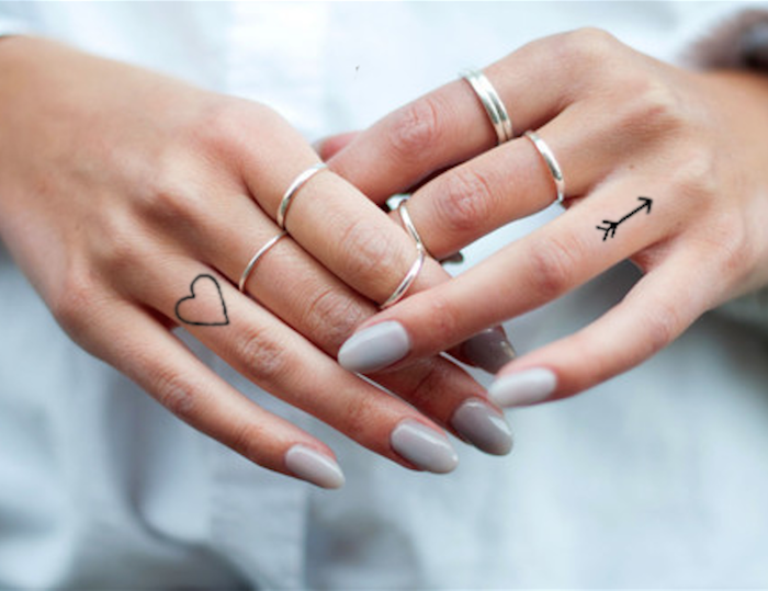 imagenes-de-tatuajes-pequenos-flecha--corazon
