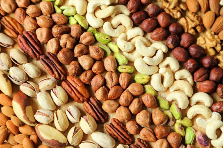 keto dieta nueces y semillas