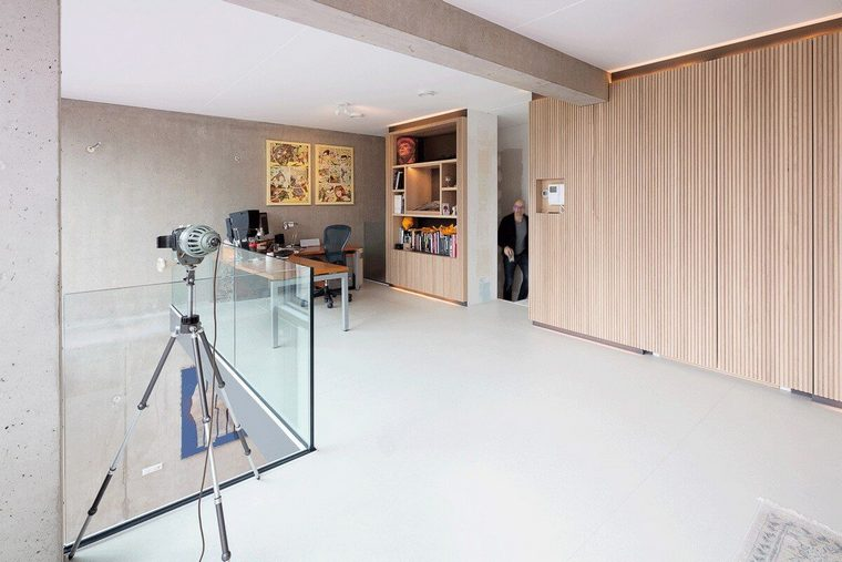 Diseño y decoración loft de FABRICation para Marc Koehler Architectes