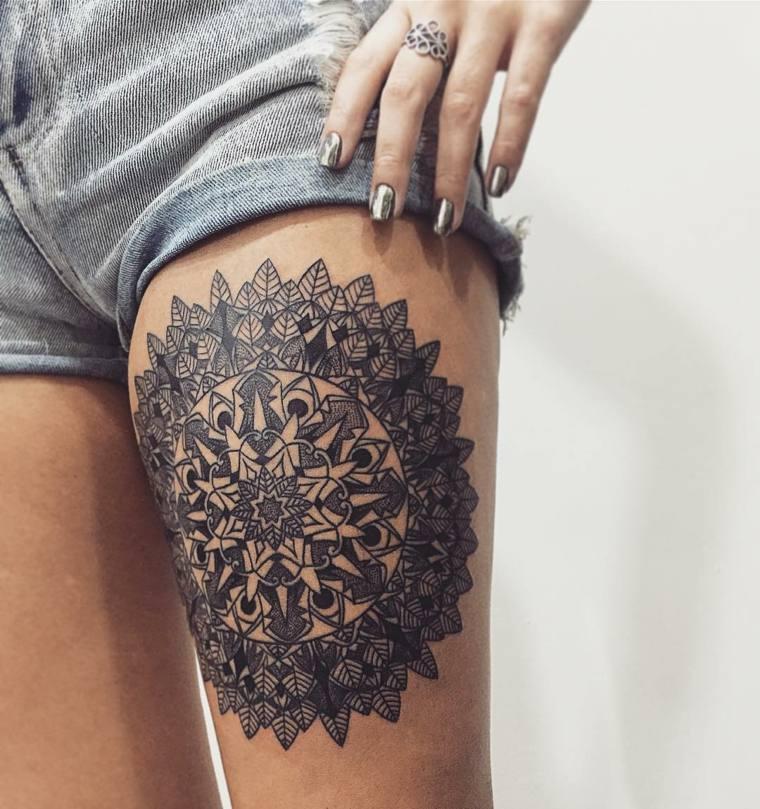 mandal-tattoo-ideas-pierna