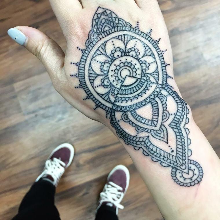 mandala-flor-tatuaje-ideas-estilo