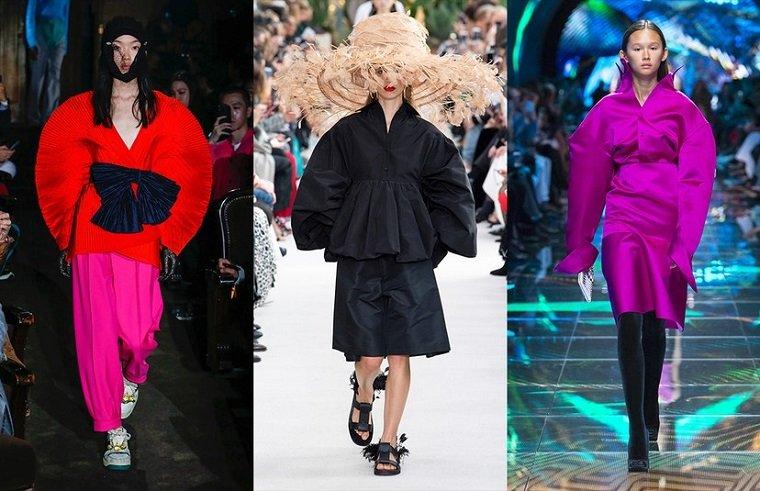 Gucci, Valentino, Balenciaga