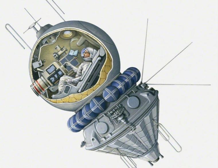 nave espacial cápsula
