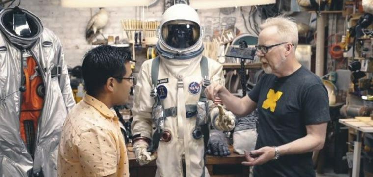 prueba de trajes espaciales