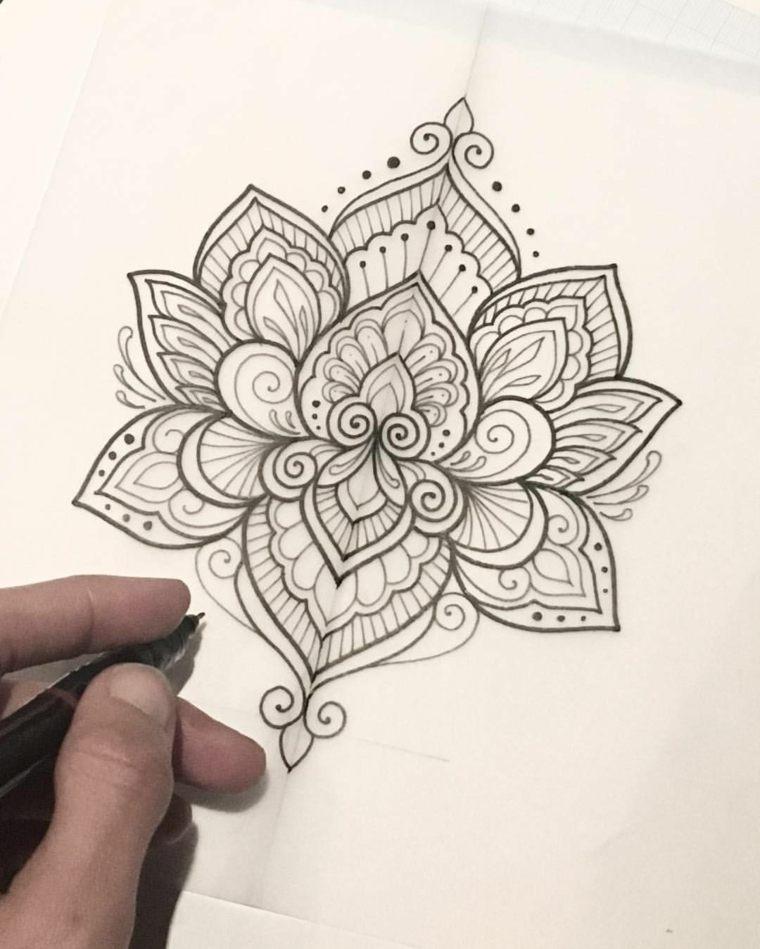 tattoo-mandala-diseno-significado-lotus-ideas