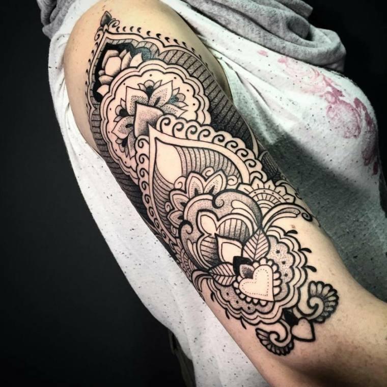 tattoo mandala-disenos-clasicos-ideas