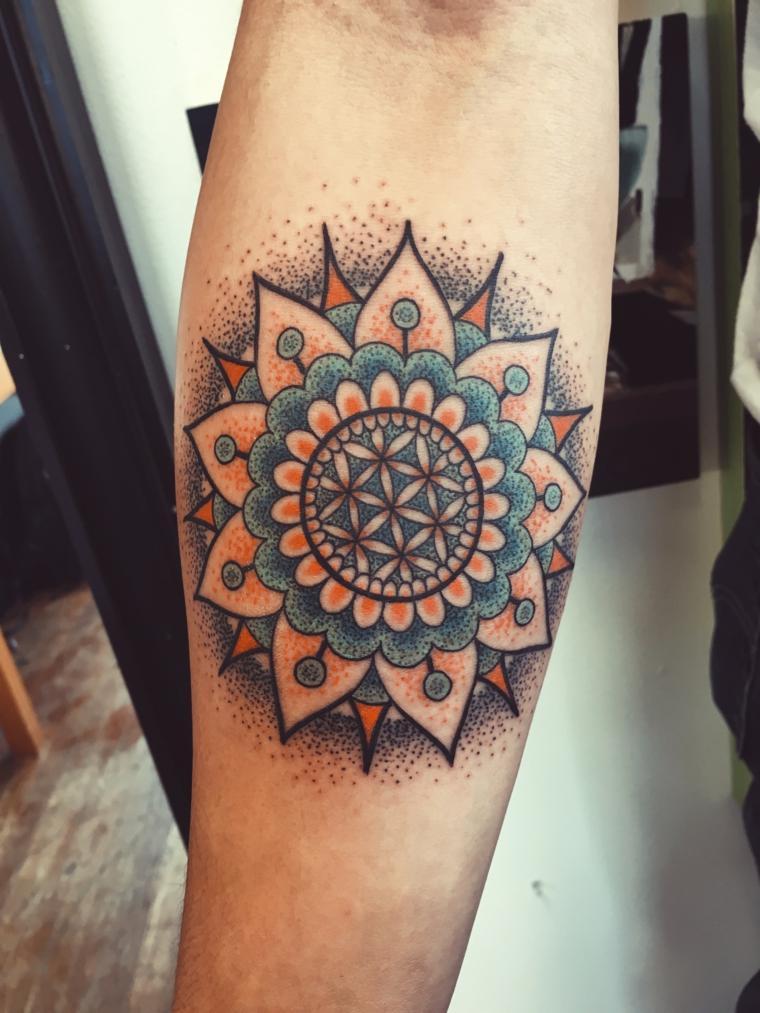 tatuaje-colorido-mandala-opciones