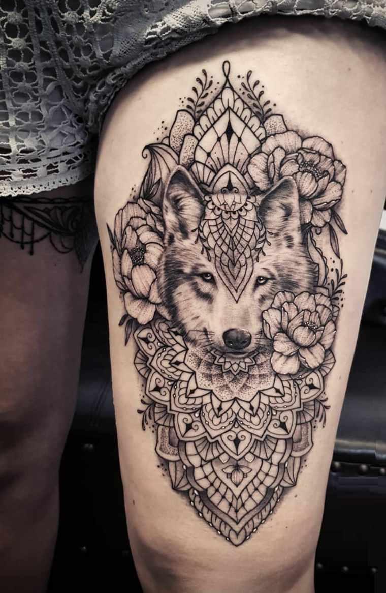 tatuaje-mandala-lobo-opciones