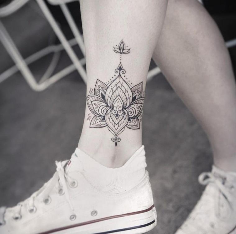 tatuaje-mandala-pierna-ideas-estilo-moda