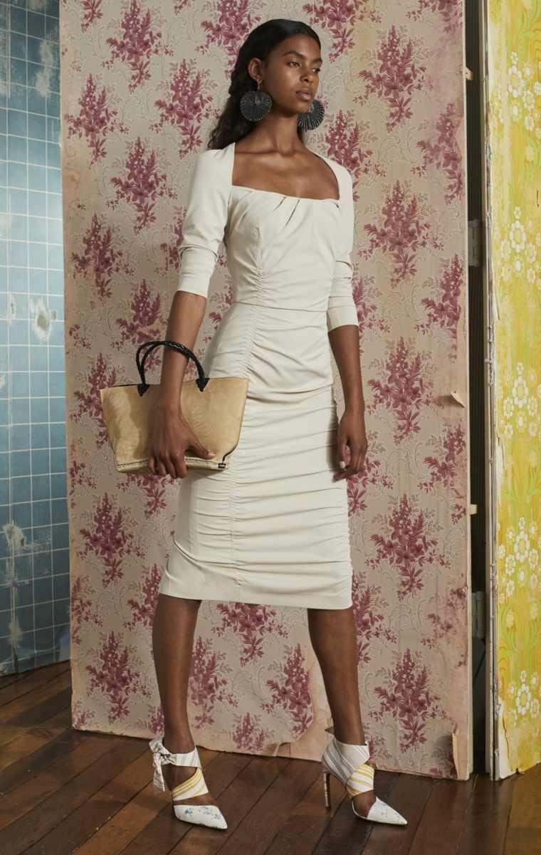 tendencias 2019 vestido blanco