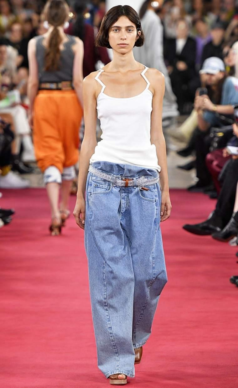 tendencias primavera pantalones anchos