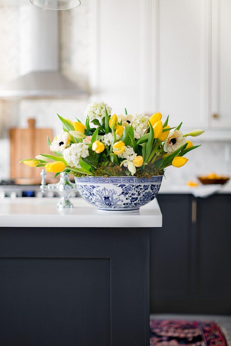 tulipanes-amarillos-opciones-decorar-casa