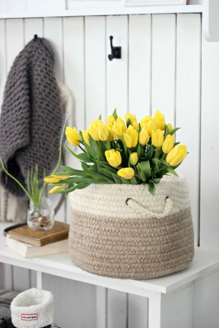 tulipanes-amarillos-primavera-flores