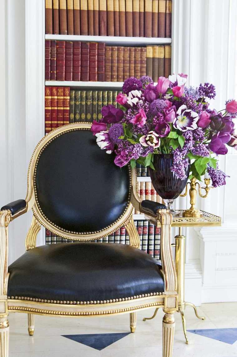 tulipanes-silla-ideas-color-purpura-estilo