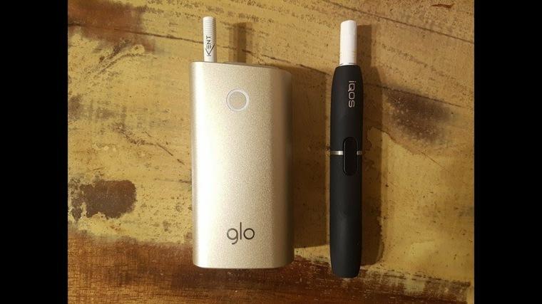 Cigarro electrónico glo