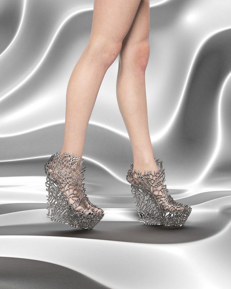 Zapatos de coral