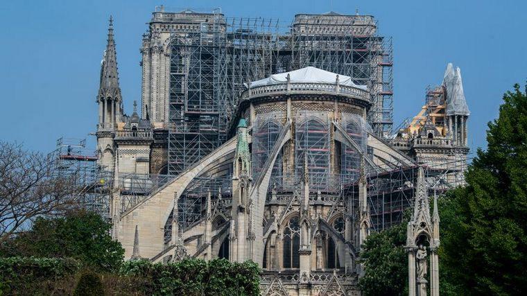 El proyecto de Vincent Callebaut  para la renovación de la catedral de Notre Dame de París