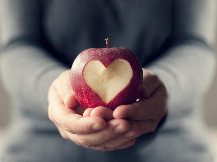 alimentos-buenos-para-el-corazon-manzanas