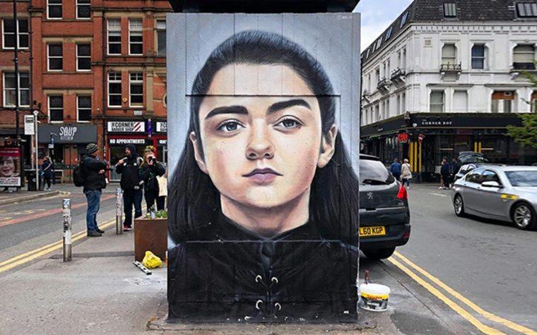 arte callejero Arya