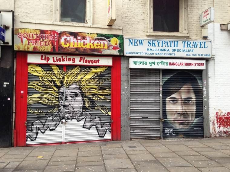 arte callejero ejemplos
