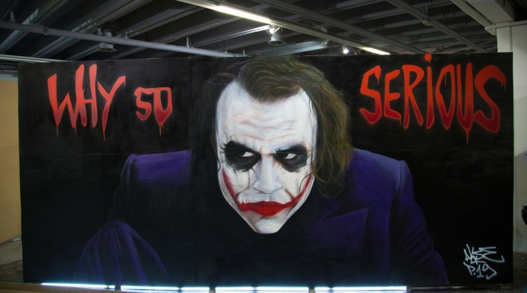 arte callejero el joker