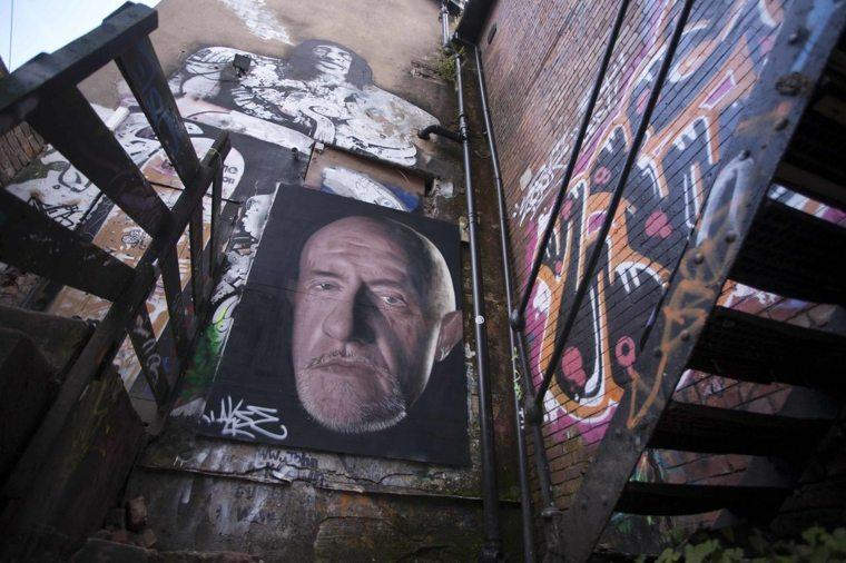 arte callejero graffiti retrato