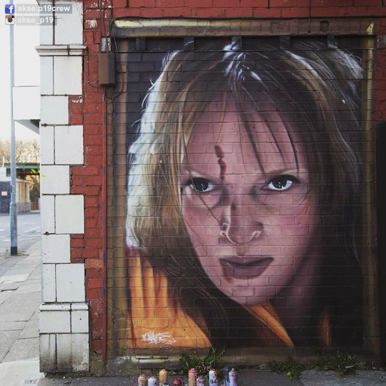 arte callejero kill bill