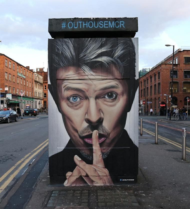 arte callejero parada