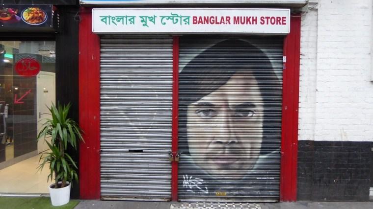 arte callejero puerta