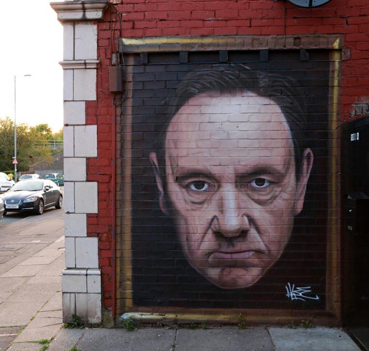 callejero retrato de actor