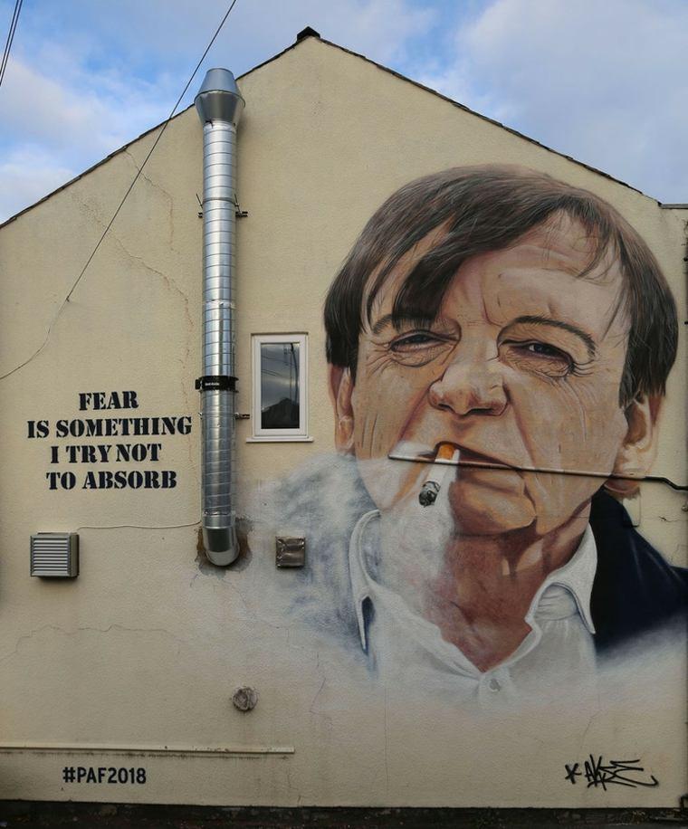 arte callejero retrato