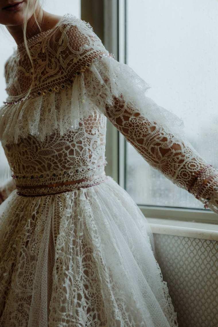 boda boho chic-estilo-vestido-novia