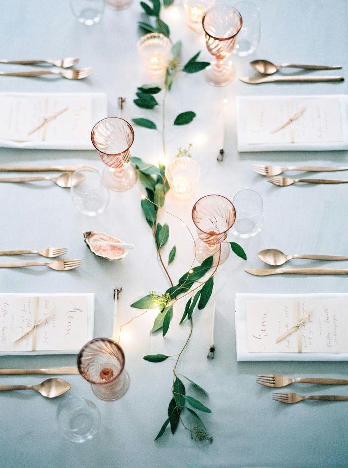 bodas temáticas-estilo-minimalista-centro-mesa