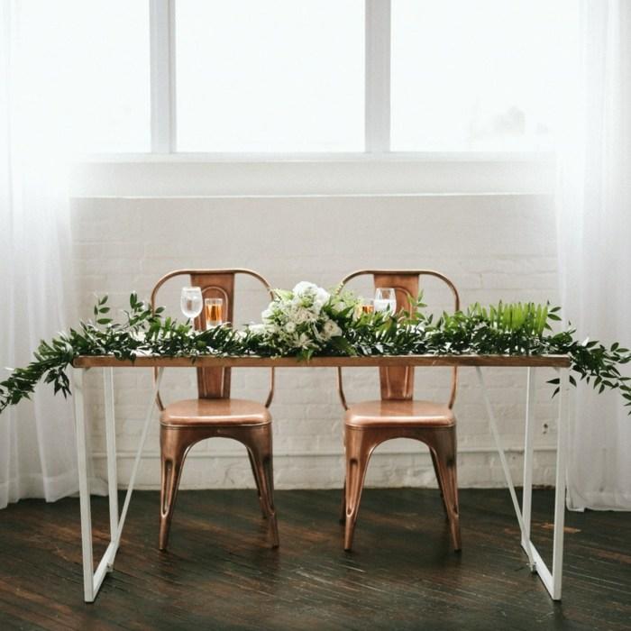 bodas temáticas-estilo-minimalista-decorar-mesa