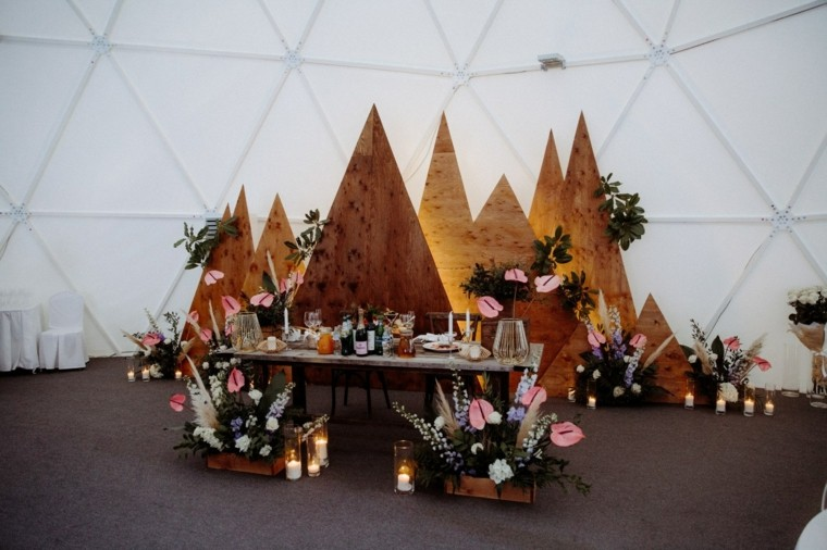 boho-boda-estilo-decoracion-madera