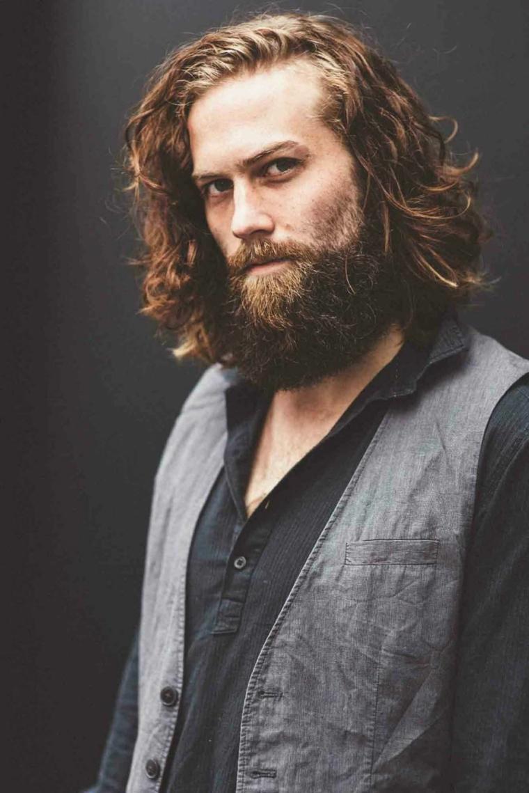 Como arreglarse el cabello largo hombres