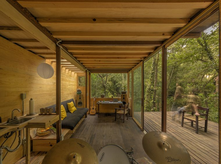 casa flotante-bosque-mexico