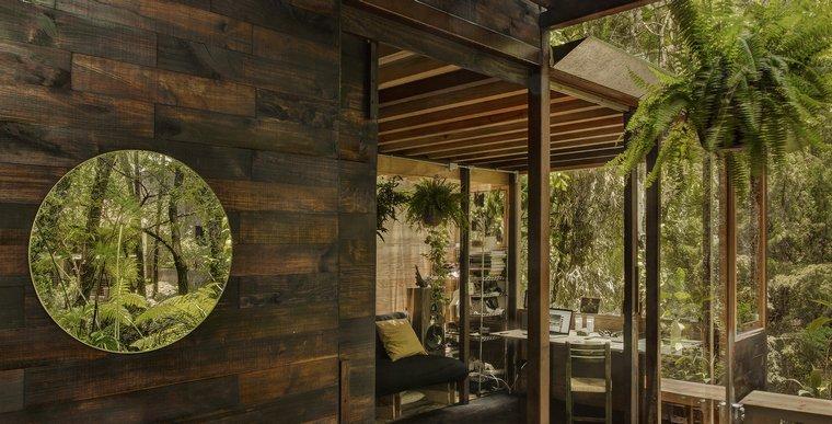 casa flotante-material-madera