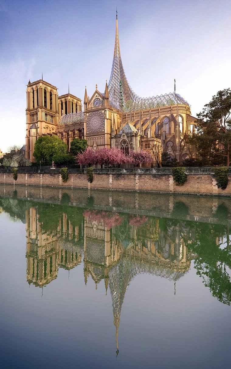 catedral-de-Notre-Dame-diseno-arquitectura