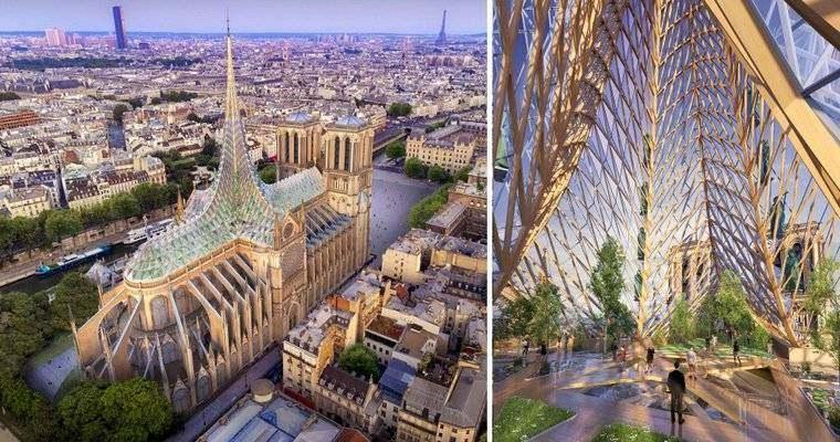 catedral de Notre Dame-renovacion