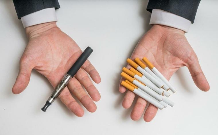 cigarrillos tradicionales vs electrónicos
