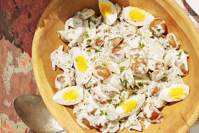 comer al aire libre receta-ensalada-patatas