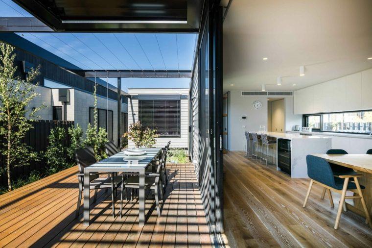 cómo decorar una terraza pequeña-ideas