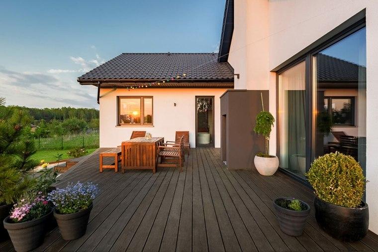 cómo decorar una terraza pequeña-moda-2019