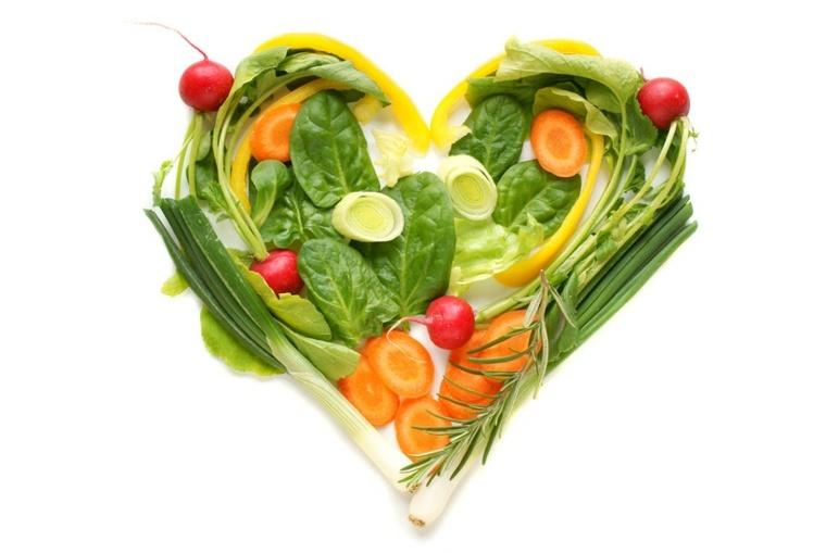 corazón vegetariano