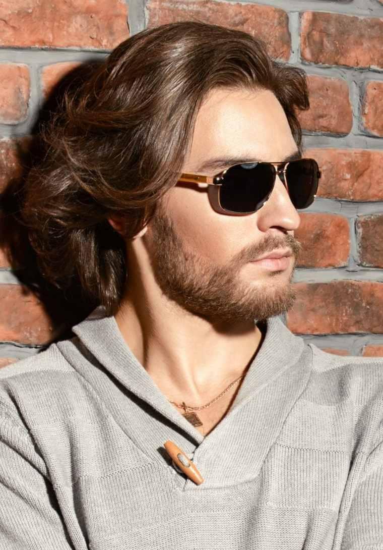 cortes de pelo largo hombre 2019 elegante-capas