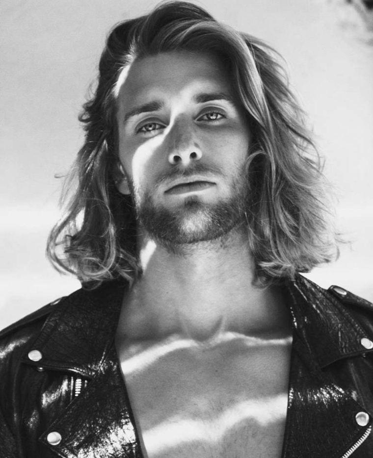 cortes de pelo largo hombre 2019-estilo-habmbre