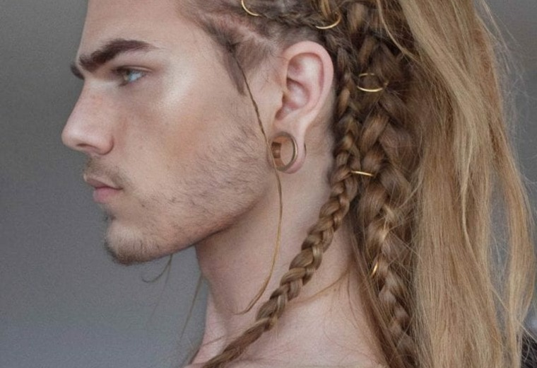 cortes-de-pelo-largo-hombre-2019-estilo-vikingo