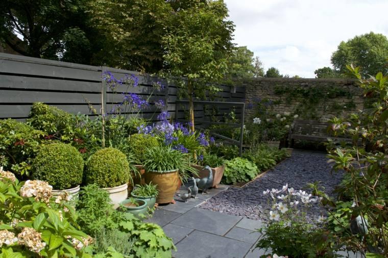 garden decoration paving