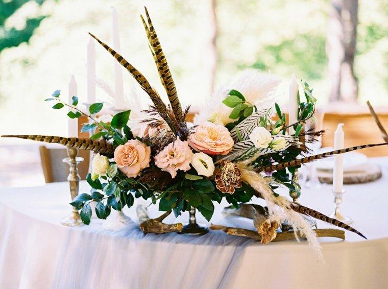 decoraciones-boda-boho-centro-mesa